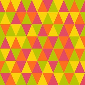 rot grüne Dreiecke
