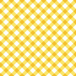 Kariert schräg gelb