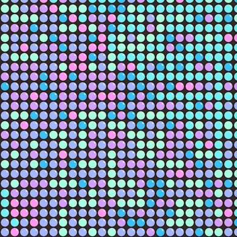 Candy Dots Unicorn Colors fabric by muddyfoot on Spoonflower - custom fabric