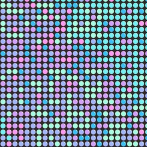 Candy Dots Unicorn Colors