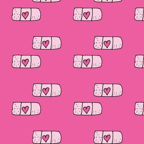 Kawaii band-aid Pink
