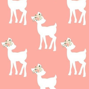 Fawn (peach) – Baby Deer Girls Nursery Bedding