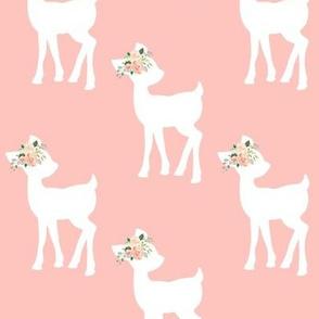 Fawn (light peach) – Baby Deer Girls Nursery Bedding