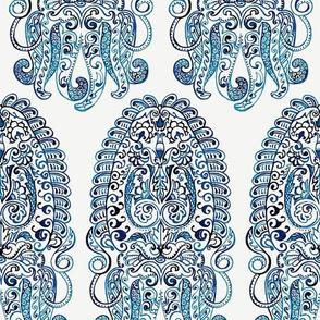 Block Print Cuttlefish