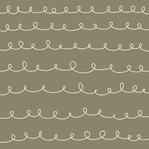 Loops khaki