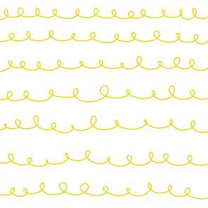 Loops weiß gelb lemonade-doodle