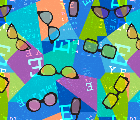 EyeDoc fabric by beckarahn on Spoonflower - custom fabric