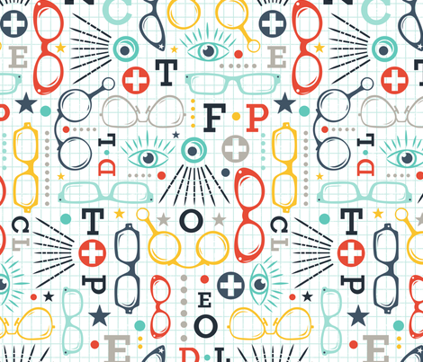 Spectacle  fabric by heatherdutton on Spoonflower - custom fabric