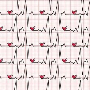 EKG Plaid