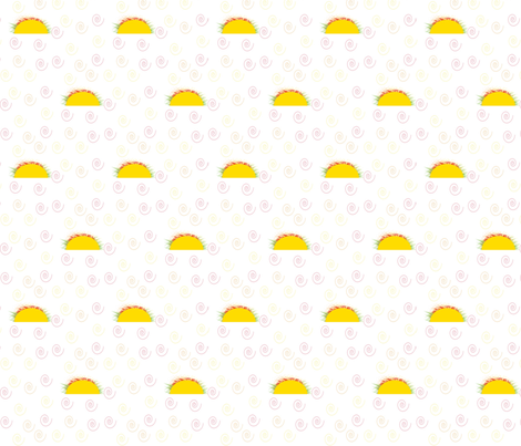 Let's Taco Bout It fabric by mtaylorwb on Spoonflower - custom fabric