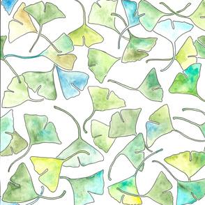 Karen's Ginkgo Leaf Pattern