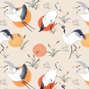 Eastern Cranes