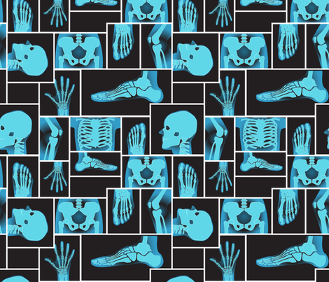 The Hip Bone's connected to fabric by diseminger on Spoonflower - custom fabric