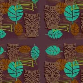 Sneaky Tikis Hiding In The Jungle