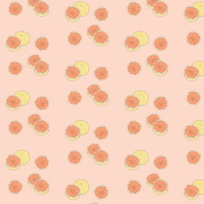 Grapefruits in Coral