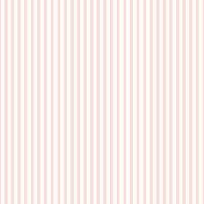 Beefy Pinstripe: Rose Gold & Cream
