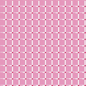 Pink Retro Squares