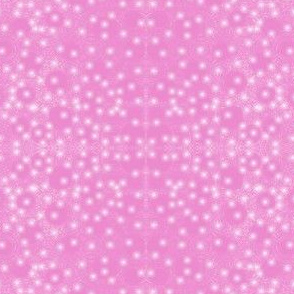 A Scatter of Pearls on Pretty Pink