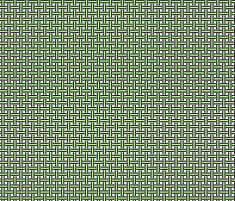 Licorice Allsorts weave Lime fabric by karwilbedesigns on Spoonflower - custom fabric