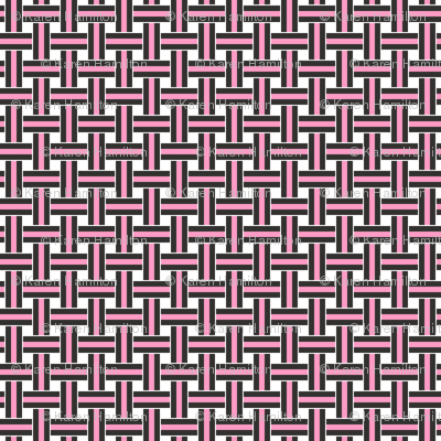 Licorice Allsorts weave Pink