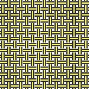 Licorice Allsorts weave Yellow