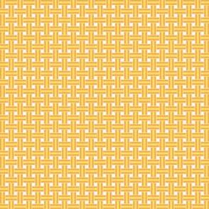 Lolly weave Orange yellow