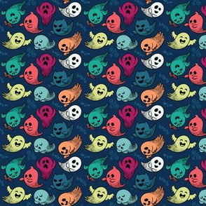 Cute ghosts small size