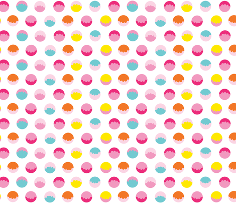 frilly spots fabric by jookiku on Spoonflower - custom fabric