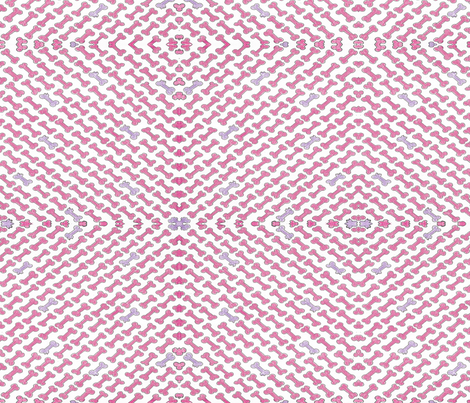 Lite Snack for Chunk Pink  fabric by debra_may_himes,_asid on Spoonflower - custom fabric