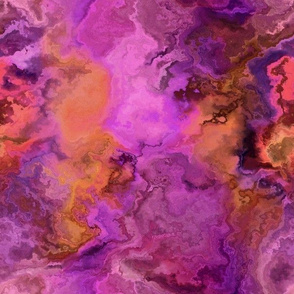 Pink Orange Purple Abstract