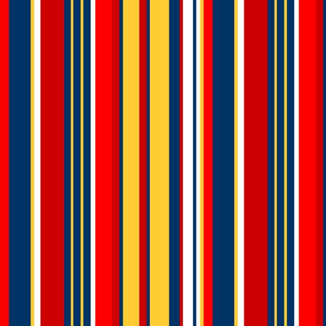 Abigail Anne: Summer Stripes fabric by tallulahdahling on Spoonflower - custom fabric