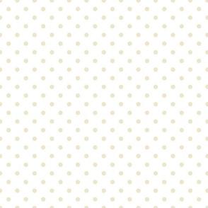 polkadots weiß hellgrau