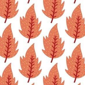 Blätter Indianer rot