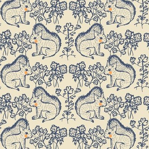 squirrels motif