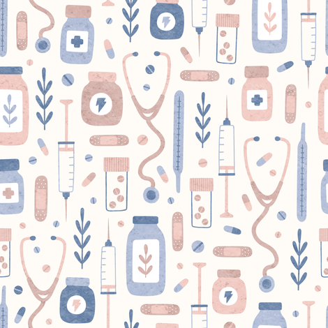 Medical goods fabric by kondratya on Spoonflower - custom fabric