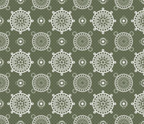 Circle Doilies fabric by whimsicalvigilante on Spoonflower - custom fabric