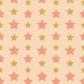 Sterne rosa gold