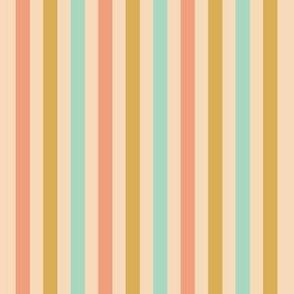 Streifen rosa bunt