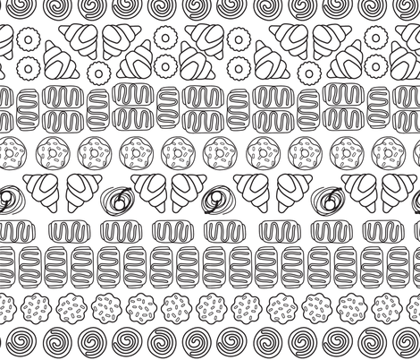 sweet treat fabric by jarstudio on Spoonflower - custom fabric