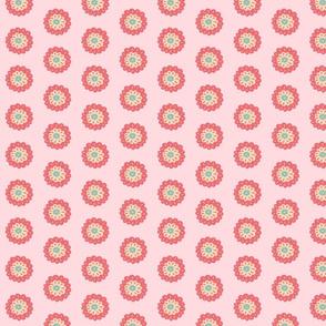 Malmo - Blume 1 rosa