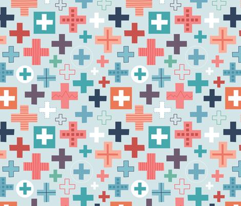 medical fabric by la_fabriken on Spoonflower - custom fabric