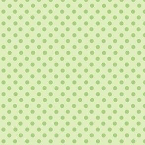 puntitos PERFECTOS verde