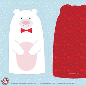 Northpole.com Polar Bear Plushie