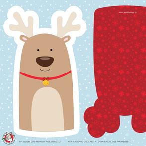 Northpole.com Reindeer Plushie