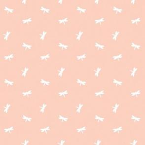Mini Dragonfly - Peach