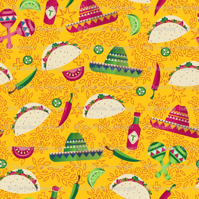 Day of the Taco - yellow