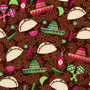 Day of the Taco - brown
