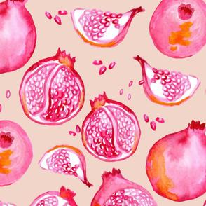 Playfull pomegranate