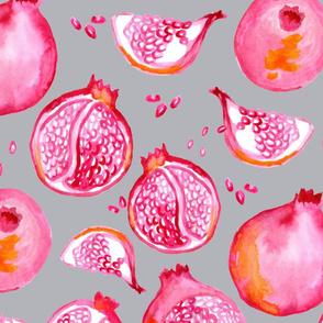 Playful Pomegranate Grey
