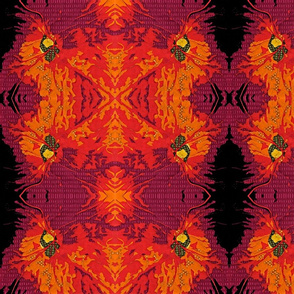 retina (faux batik large)